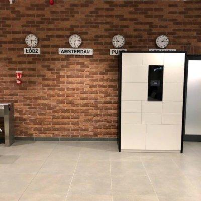 Kolektomat, lockery, miejsce pracy